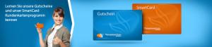 ATM Gutschein und SmartCard